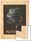 Le Monde Entier Mossant Wood Print