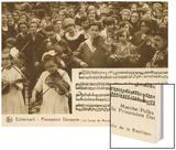 Marche-Polka Wood Print