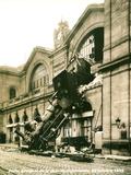 Accident de la Gare Montparnasse 1895 - Reprodüksiyon