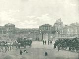 Entree du Chateau de Versailles Stretched Canvas Print