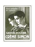 Creme Simon Paris 1932 - Poster