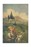 Upland Riders No. 61 Metal Print