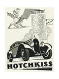 Hotchkiss Le Juste Milieu - Poster