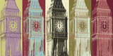 Big Ben Limited Edition on Canvas by Mj Lew