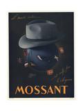 Le Monde Entier Mossant Metal Print
