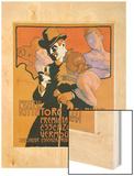 Fratelli Rittatore Torino Wood Print by Adolfo Hohenstein