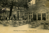 Ermitage de Lonschamp Stretched Canvas Print