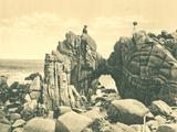 Natural Stone Arch 17 Mile Drive, 1912 - Art Print