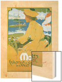 Monaco Exposition et Concours 1904 Wood Print by Adolfo Hohenstein