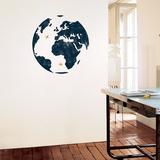 地球 ウォールステッカー