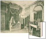 Chambre de Napoleon Wood Print