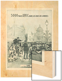 Le Taxi UNIC Est Inusable 1927 Wood Print