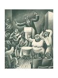 Come to Jesus No. 22 Lærredstryk på blindramme af Miguel Covarrubias