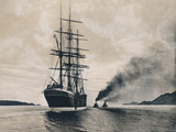 Schooner & Tug Boats - Poster