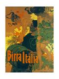 Birra Italia Milano Metal Print by Adolfo Hohenstein