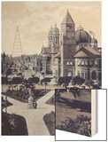 City Hall San Jose Wood Print