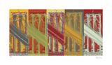 Pont de Brooklyn, New York Édition limitée par Mj Lew