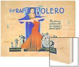 George Raft & Carole Lombard Wood Print