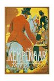 Elixir de Kempenaar Reproducción en lienzo de la lámina por Adolfo Hohenstein