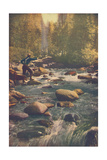 Fun on the River No. 46 Metal Print