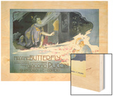 Madame Butterfly 1904 Wood Print by Adolfo Hohenstein