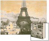 Paris Exposition Universelle 1900 Wood Print