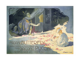 Madame Butterfly 1904 Metal Print by Adolfo Hohenstein
