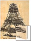 Tour Eiffel Septembre 1888 Wood Print