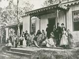General Heintzelman at Convalescent Camp, Alexandria - Tablo