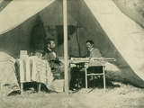 President Lincoln and General McClellan - Reprodüksiyon