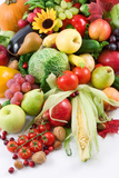 Fruits and Vegetables Photographic Print by  og-vision