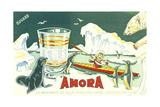 Amora Metal Print
