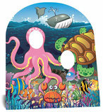 Under the Sea Child Stand-In Cardboard Cutouts