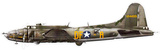 Flying Fortress B-17 Steel Sign Wall Sign