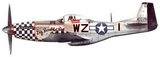 Big Beautiful Doll P-51 Steel Sign Wall Sign