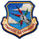 Strategic Air Command Steel Sign Wall Sign