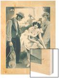 Le Bracelet de Julie Wood Print by F. Bac