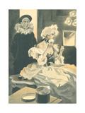 F. Bac - Les Societeres Au Chateau - Poster