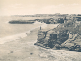 The Cliffs Near Santa Cruz 1915 Stretched Canvas Print