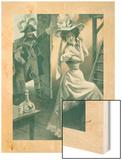 Pour le Roy et Pour la Republique Wood Print by F. Bac