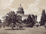 State Capitol Stretched Canvas Print