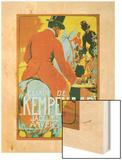Elixir de Kempenaar Wood Print by Adolfo Hohenstein