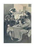 F. Bac - Lever de Rideau - Art Print