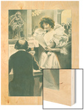 Abus de Confiance Wood Print by F. Bac
