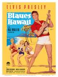 Elvis Presley in Blaues (Blue) Hawaii Posters af Rolf Goetze