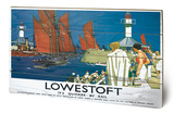 Lowestoft Boats Wood Sign Cartel de madera
