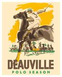 Deauville Polo Season - Normandy, France Giclee-vedos tekijänä Michel Jacquot