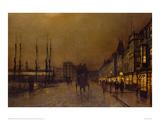 Glasgow Giclee Print by John Atkinson Grimshaw