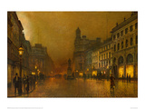 St. Annes Square Giclee Print by John Atkinson Grimshaw