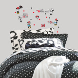 Minnie Rocks the Dots Peel and Stick Wall Decals Wall Decal